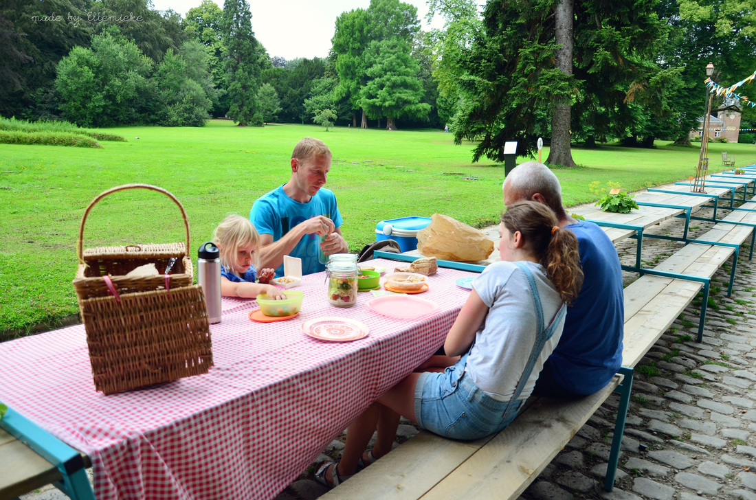 picknicken aan de langste tafel made by ellemieke